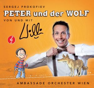 CD Cover Peter & der Wolf